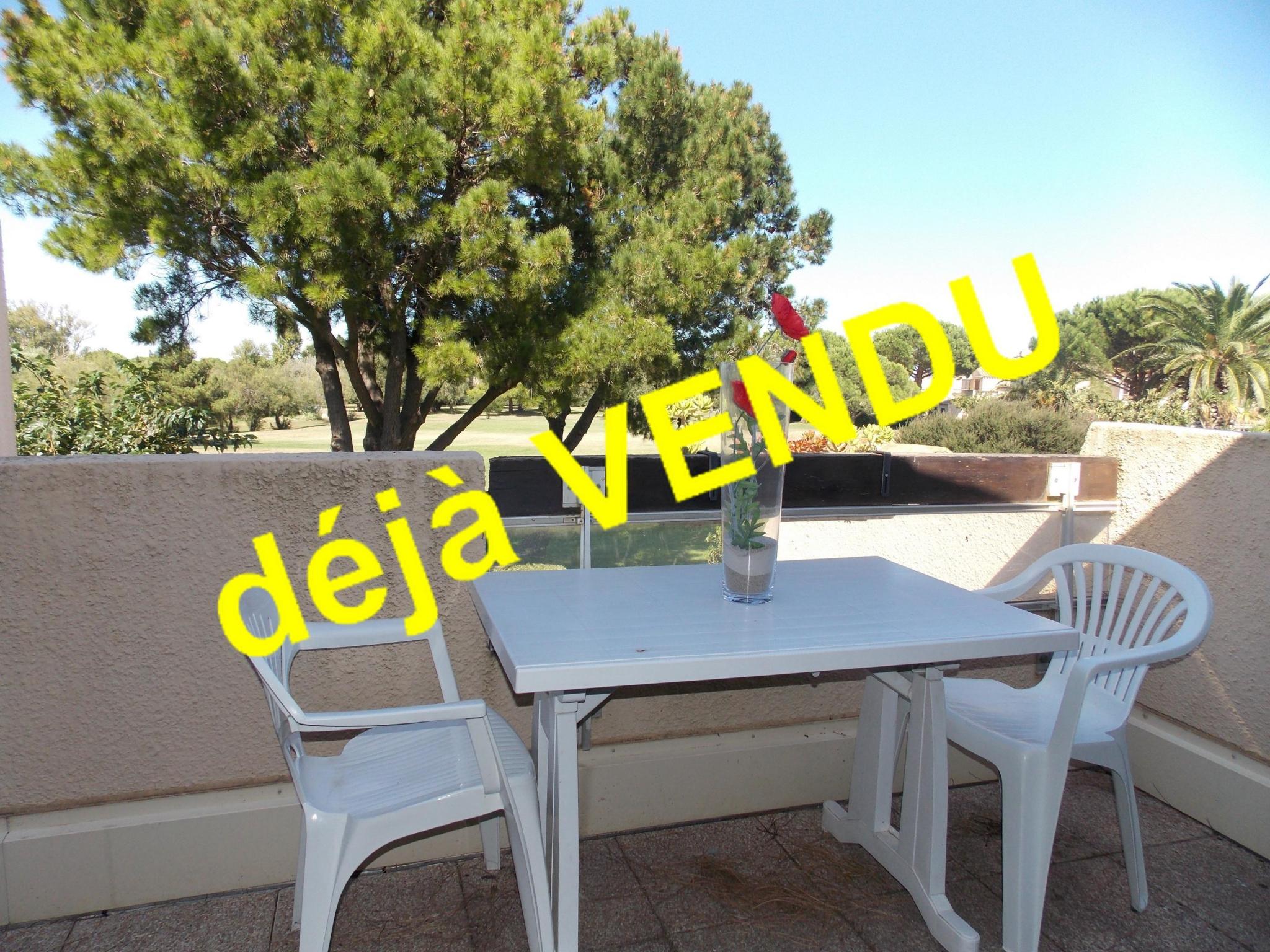 Vente appartement 1 pièces st cyprien plage 66750