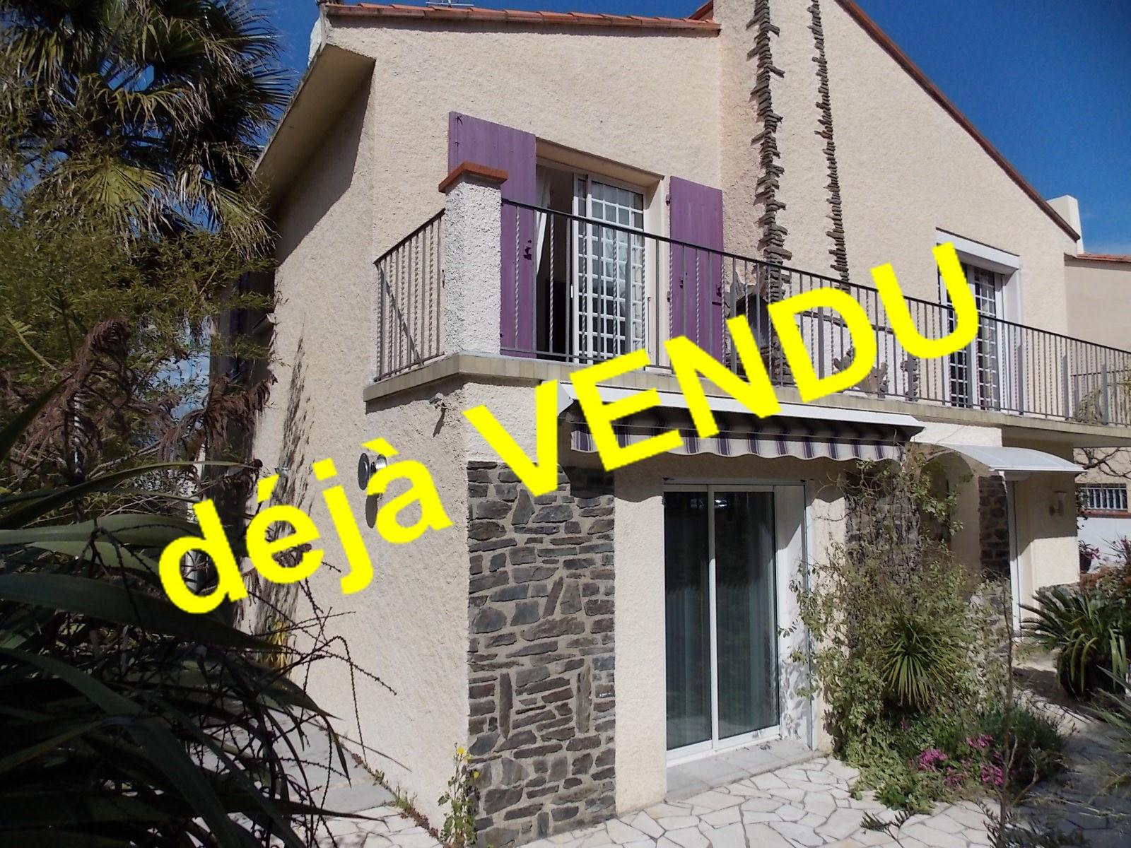 Vente maison/villa 6 pièces st cyprien plage 66750
