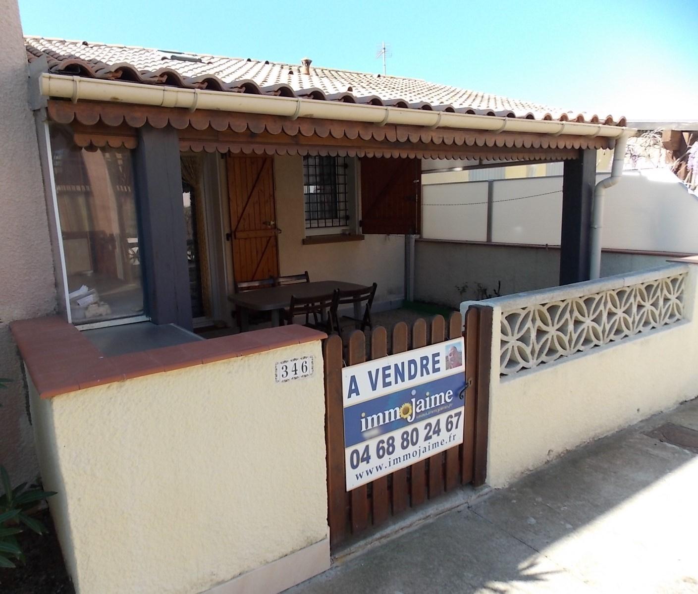 Vente maison/villa 2 pièces st cyprien plage 66750